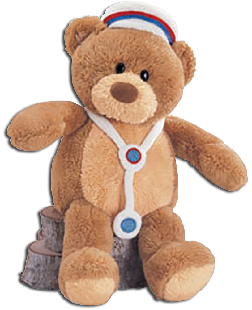 These adorable Gund Teddy Bears are ready to let someone know you are thinking of them to Get Well!