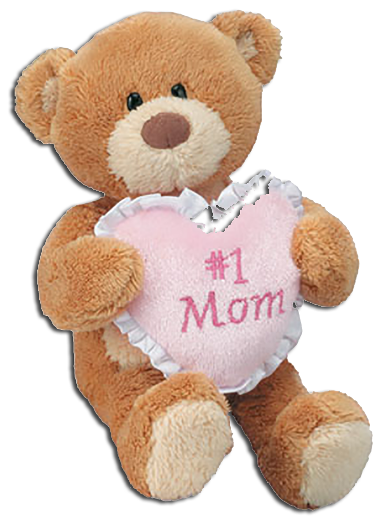 Adorable Gund Teddy Bears are ready to let Mom, Grandma, an Aunt or Sister know you are thinking of them for Mother's Day or ANY day!