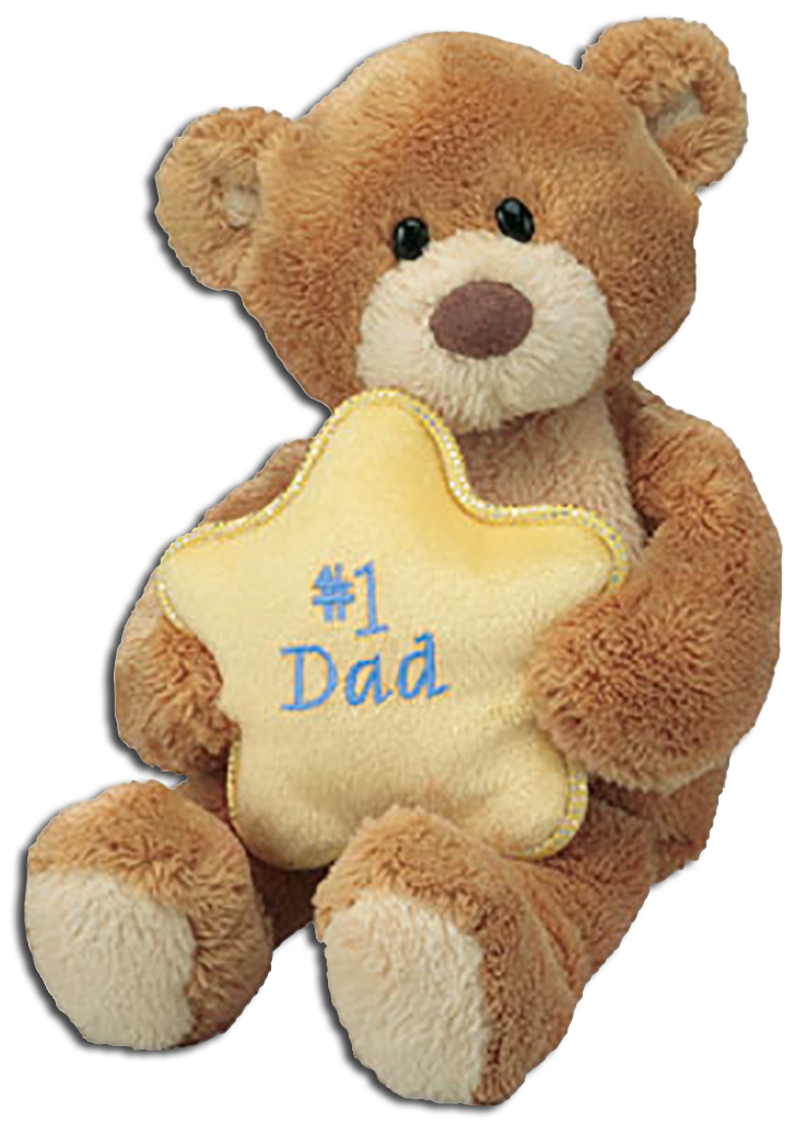 These adorable Gund Teddy Bears are ready to let Dad and Grandpa know you are thinking of them on Father's Day!