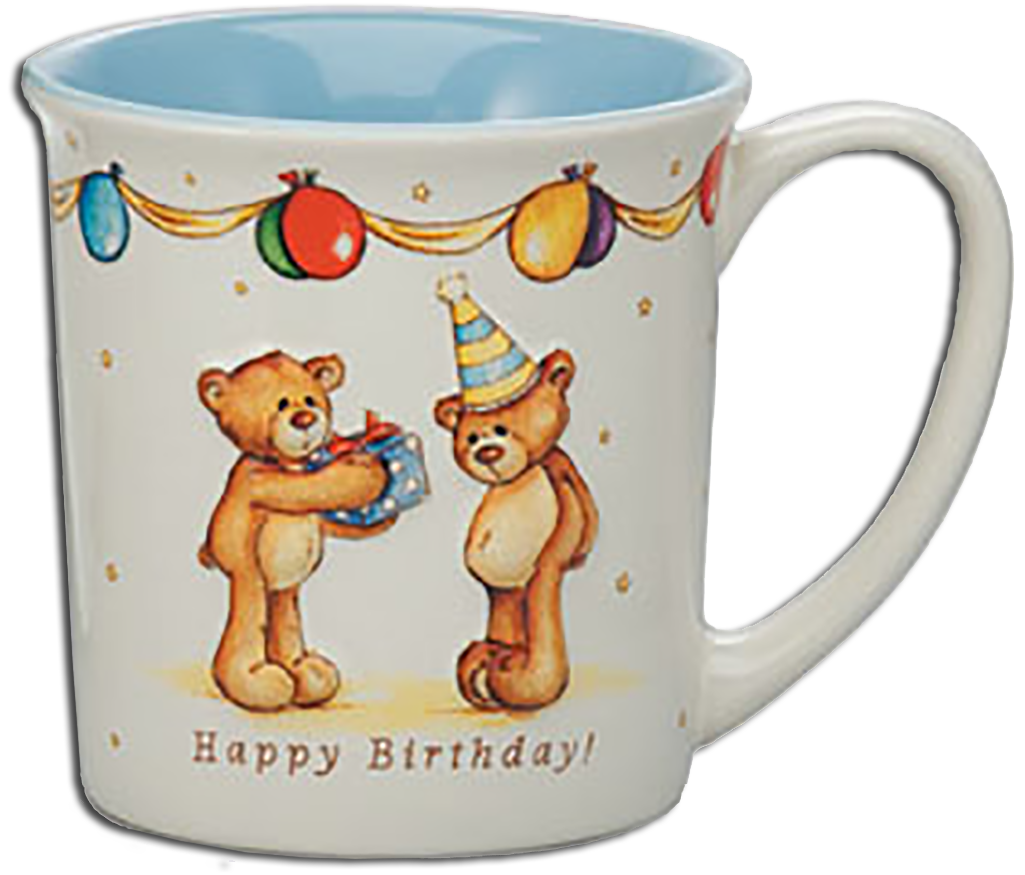 Click here to go to our Gund Teddy Bear Ceramic Mugs Thinking of You Happy Birthday