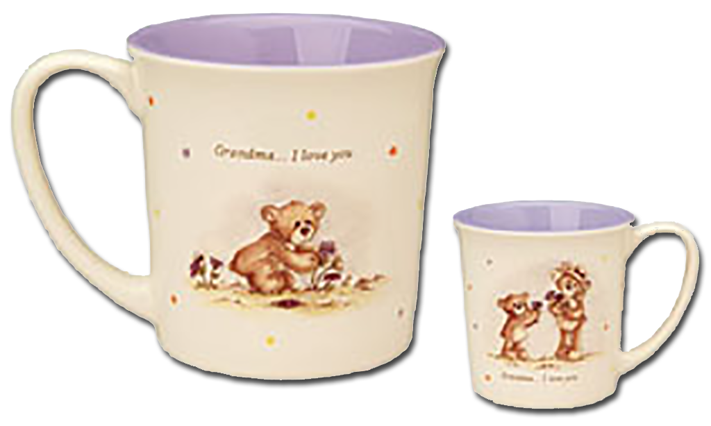 Click here to go to our Gund Teddy Bear Ceramic Mugs Thinking of You Mother's Day for Grandma