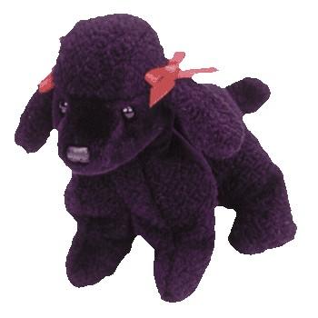 f0cbe63db3a TY Beanie Babies Gigi the Black Poodle Stuffed Animal - Introduced 5 30 98