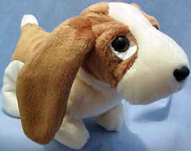 TY Beanie Babies Tracker the Basset Hound Stuffed Animal - Introduced  5 30 98 7e51b44f222