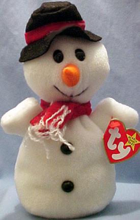 90ebce065e0 Ty Beanie Baby Snowball the Snowman - introduced 10 7 97 retired 12
