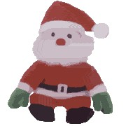 29540a47833 Ty Beanie Baby Santa The Santa Claus - introduced 9 30 98 retired 12
