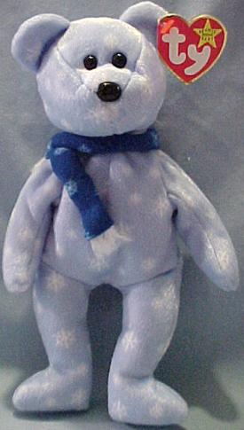 Ty Beanie Baby Teddy the 1999 Holiday Teddy - introduced 8 31 99 retired ab8e48b565e