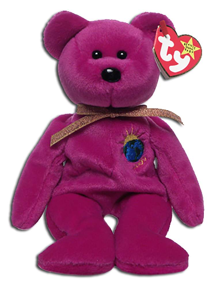 97c82ad60f9 TY Beanie Babies have been made for the Holidays and here we have the  Millennium Editions