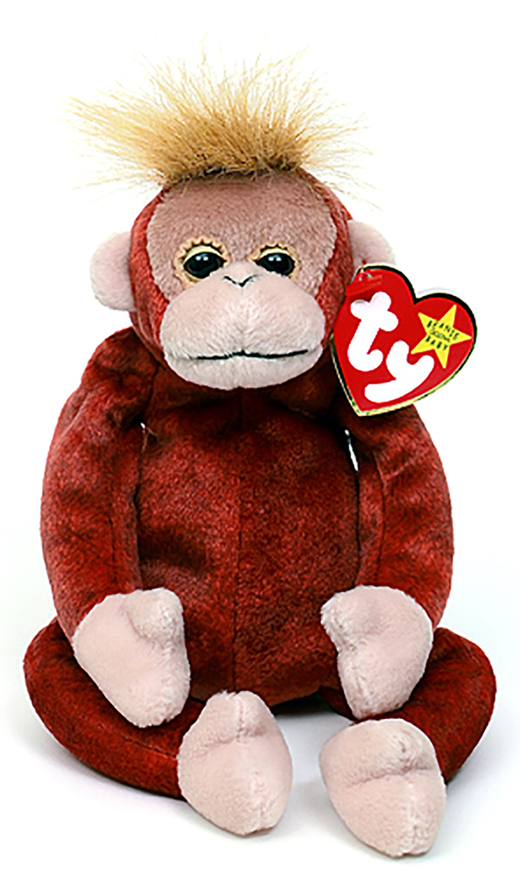 Cuddly Collectibles Ty Beanie Babies Monkyes Gorillas And