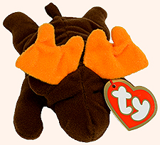McDonalds TY Teenie Beanie Babies Chocolate the Moose Stuffed Animal - from  the 1997 series of bbd00af3949