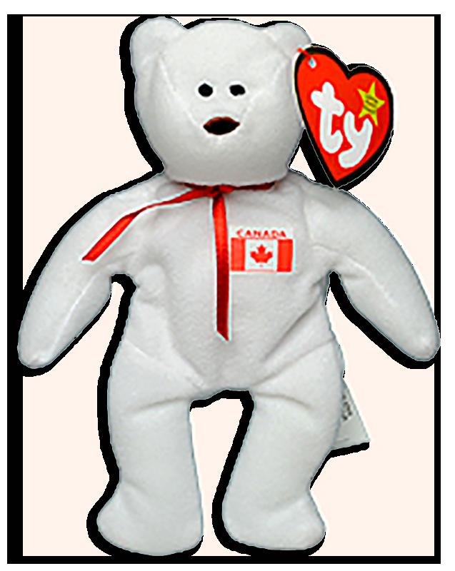 88eb89cde3a McDonalds  TY Teenie Beanie Babies International Teddy Bear Maple - from  the 1999 series of