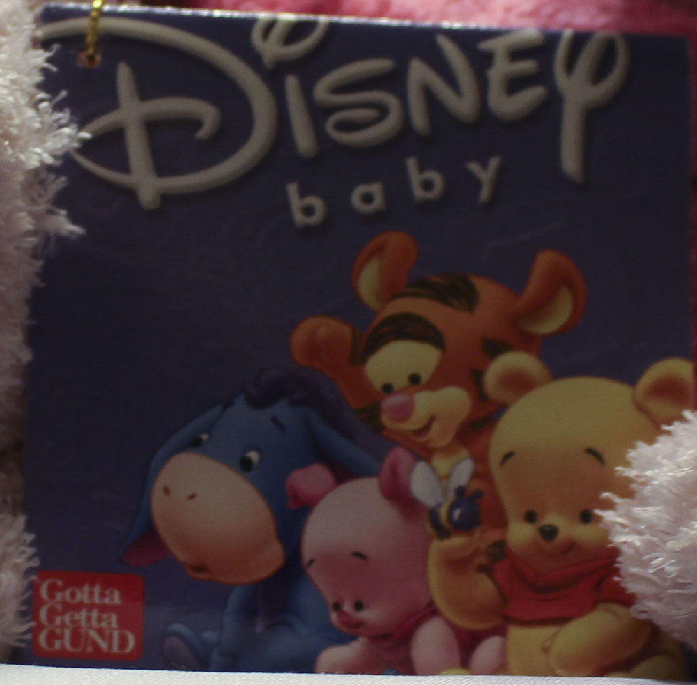 Cuddly Collectibles Baby Safe Disney Winnie The Pooh