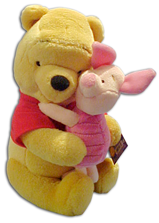 Cuddly Collectibles Valentines Day Hugging Friends Pooh