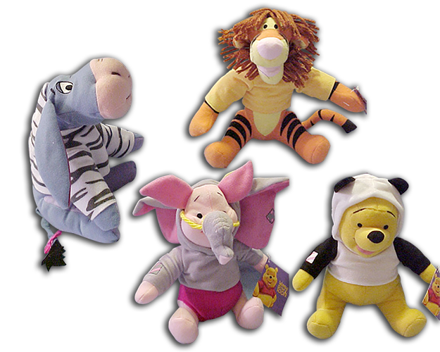 Cuddly Collectibles Clearance Sale On Winnie The Pooh Merchandise